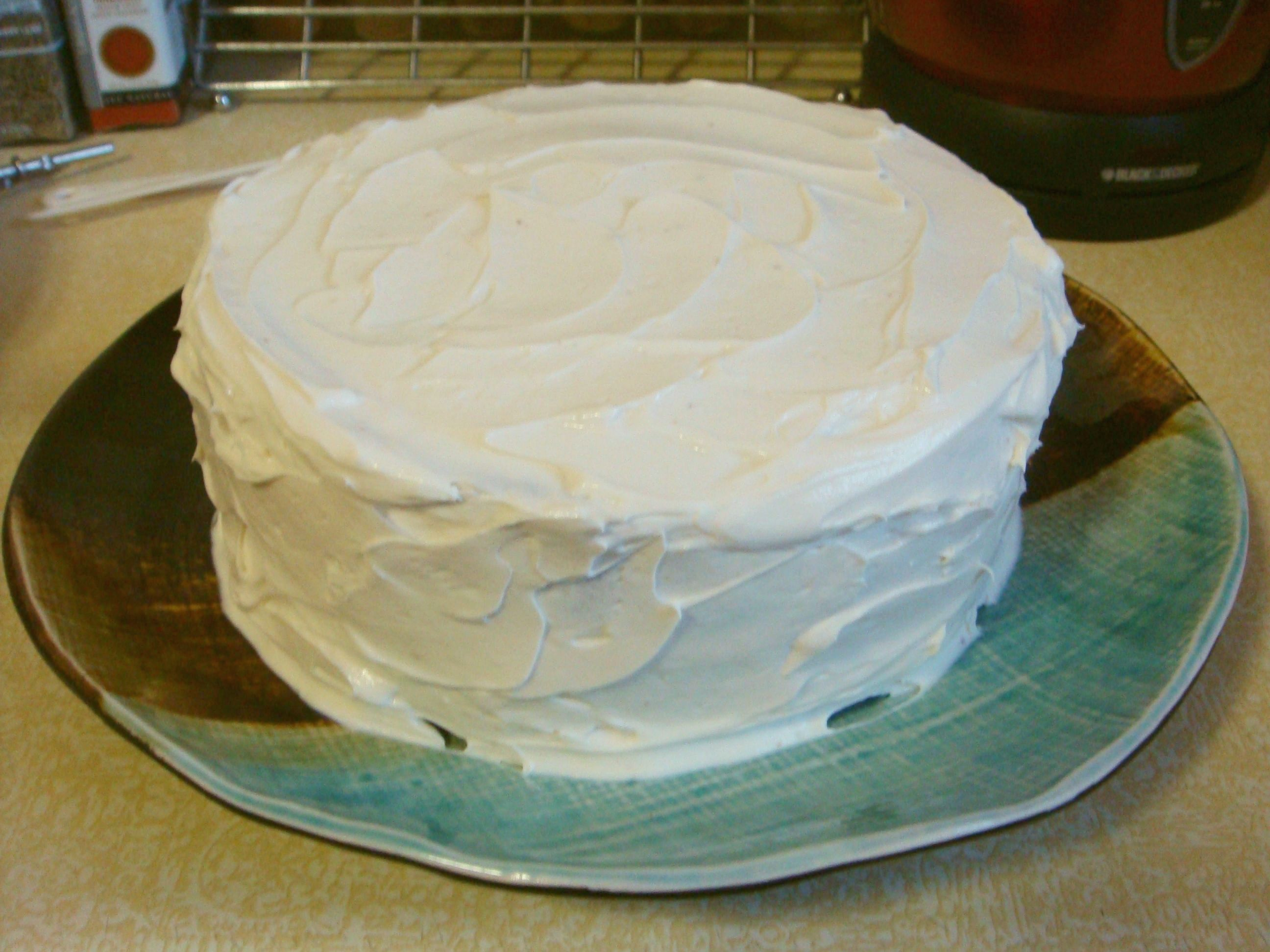 Cake With Cream Cheese Frosting : Cream Cheese Icing Cakes